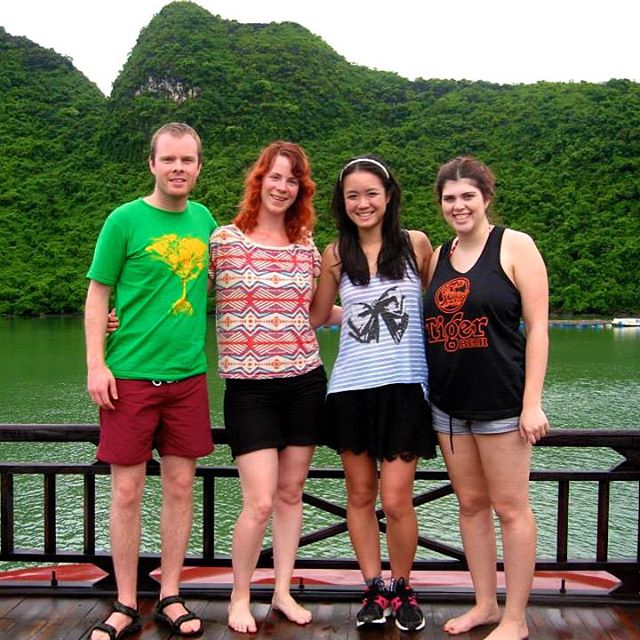 This was taken on Halong Bay, Vietnam back in 2013.