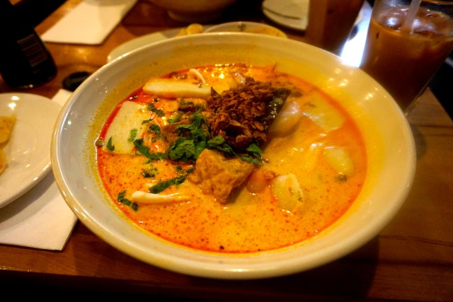 Fish Fillet Curry Laksa at Laksa King