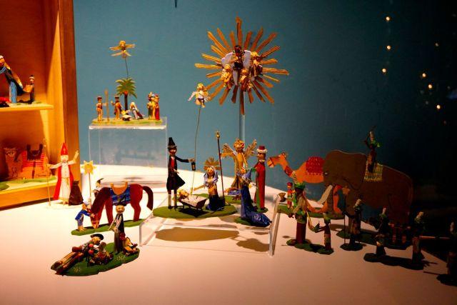 Clothes peg's Nativity Scene in Bamberg