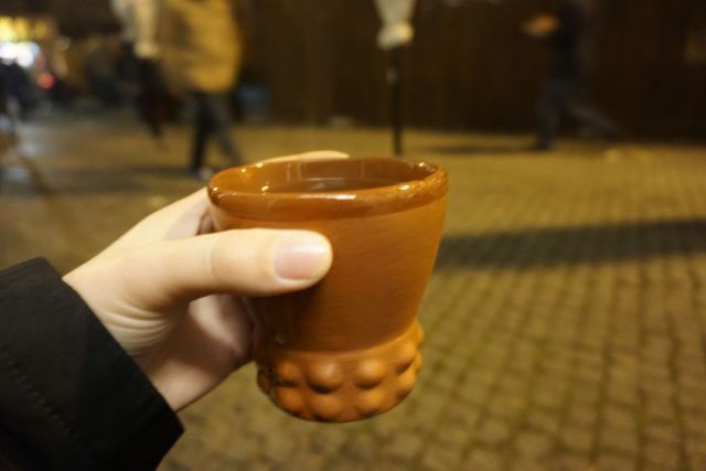 what to eat in germany gluhwein