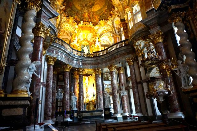 The Baroque chapel of the Wurzburg Residence