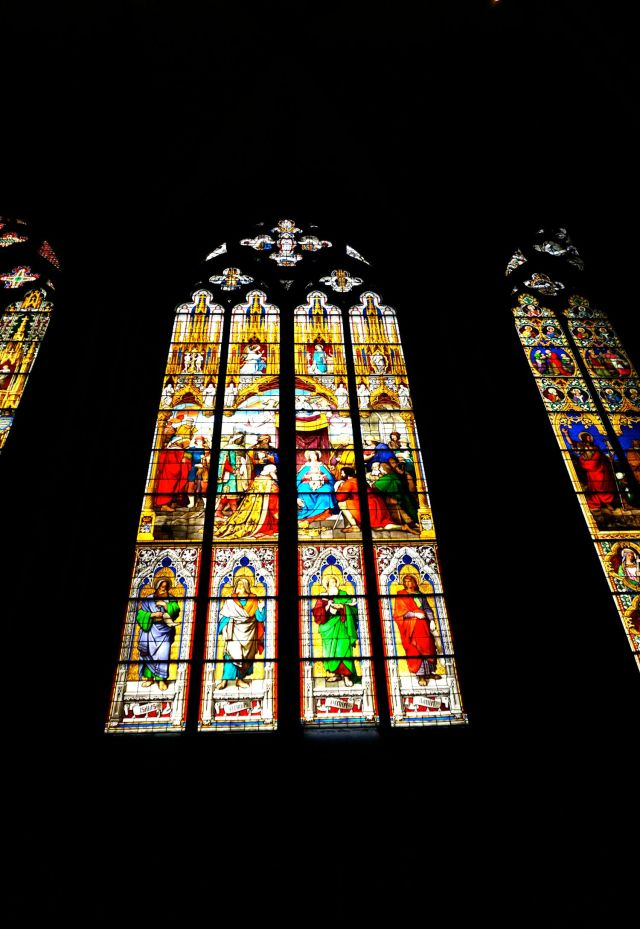 Is Cologne Worth Visiting? stained glass