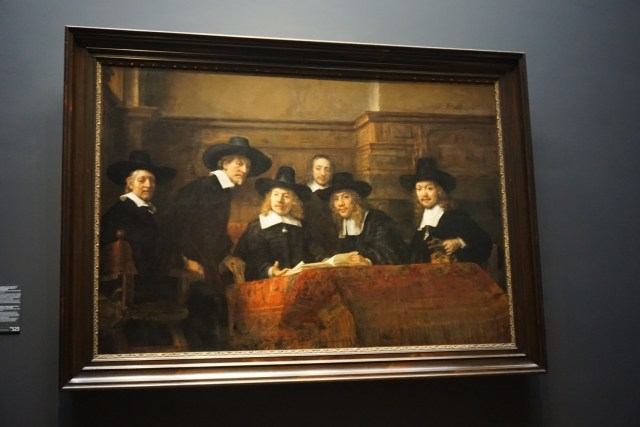 Syndics of the Drapers' Guild - what to do in amsterdam rijksmuseum