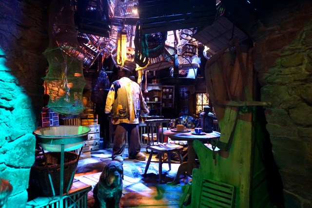 harry potter studios london hagrid hut