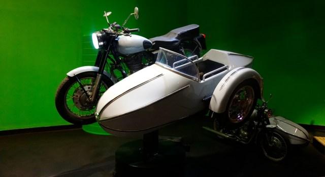 harry potter studios london motorcycle