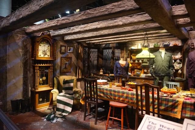 harry potter studios london the burrow