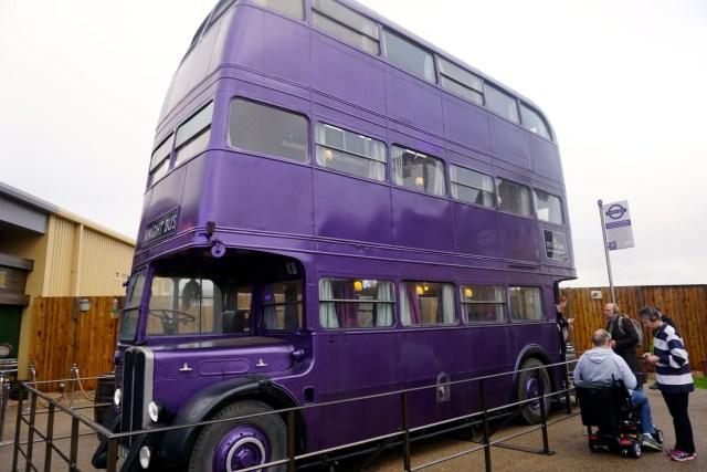 harry potter studios london knights bus