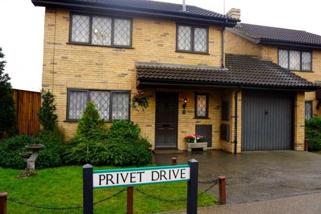 harry potter studios london privet drive