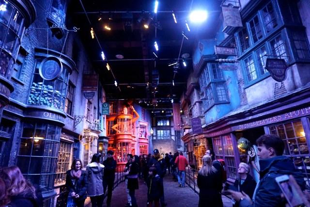 harry potter studios london diagon alley