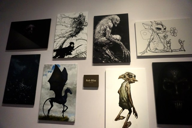 harry potter studios london art department