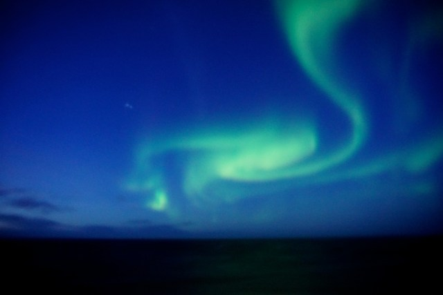 hurtigruten ms lofoten round voyage crossing the arctic circle northern lights