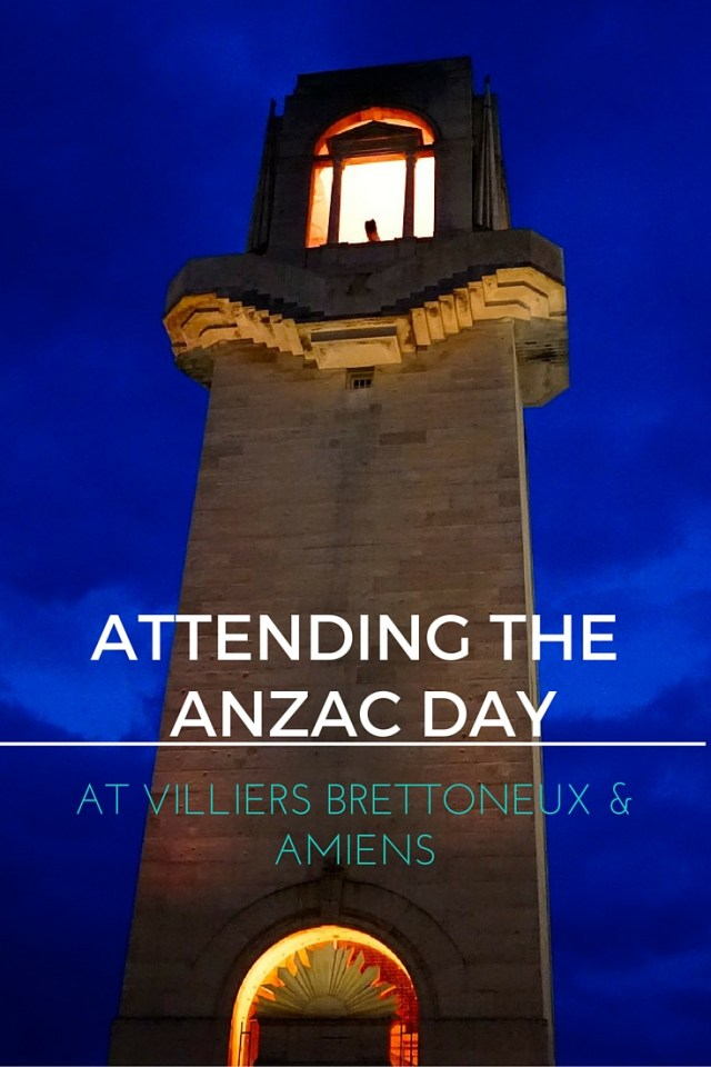 ATTENDING THE ANZAC DAY (1)