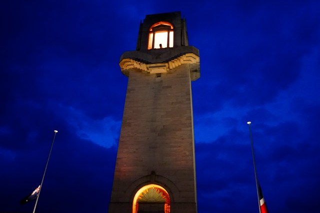 ANZAC Day Dawn Service at Villers-Brettoneux
