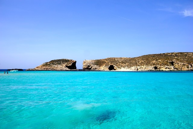 five days in Malta comino blue lagoon