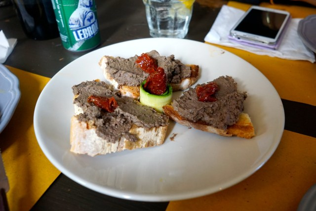 what to eat in italy chicken liver pate