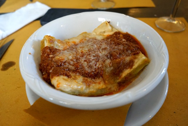 what to eat in italy lasagne