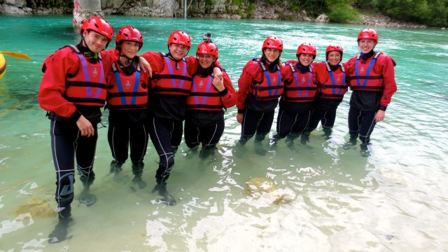 five days in slovenia emerald river adventure triglav national park white water rafting