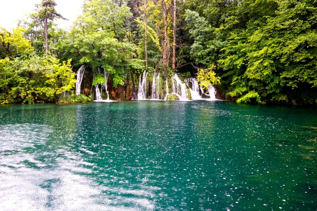 plitvice lakes national park from zadar