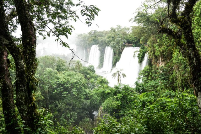 is iguauz falls wheelchair accessible argentine side argentina