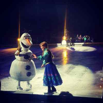A rave review for Disney On Ice presents Follow Your Heart