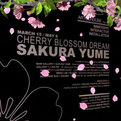 Cherry Blossom Dreams at Artechouse