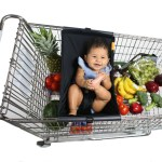 Fill Your Cart with Baby & More with the Shopping Cart Hammock