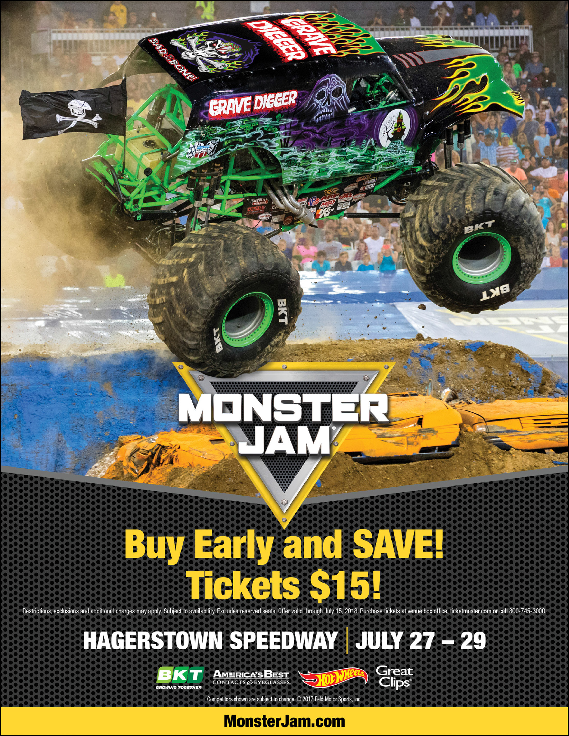 Giveaway Monster Jam At The Hagerstown Speedway Adventure Moms Dc
