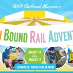 GIVEAWAY: Beach Bound Rail Adventures at the B&O Museum