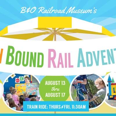 GIVEAWAY: Beach Bound Rail Adventuresat the B&O Museum