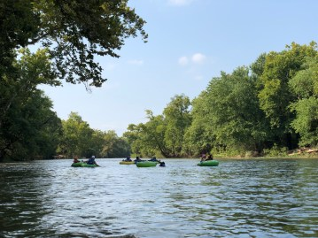 Rafting on the Shenandoah River