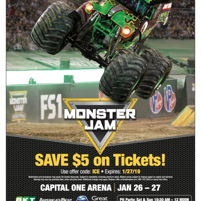 Monster Jam in the District