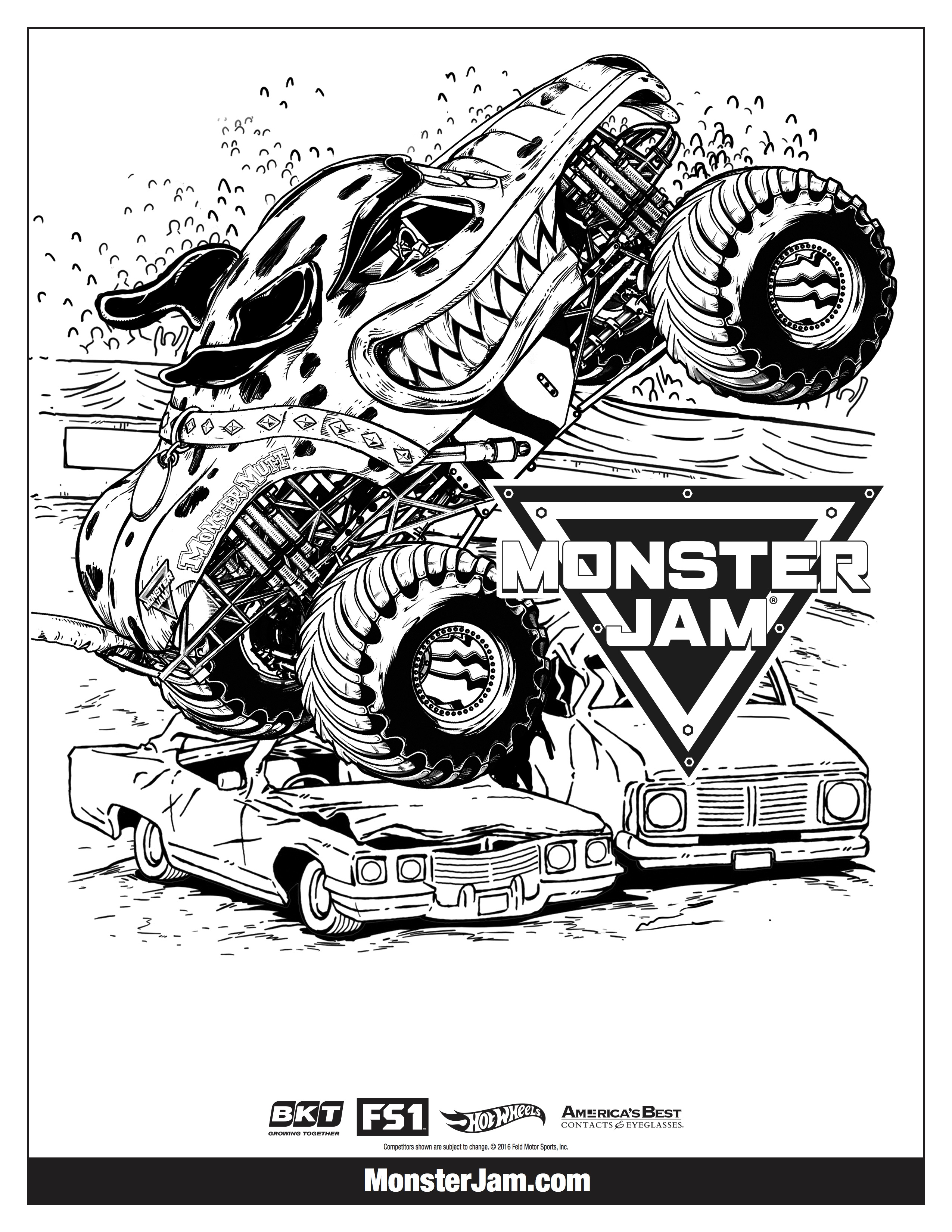 Monster Jam is Roaring into the District   Adventure Moms DC