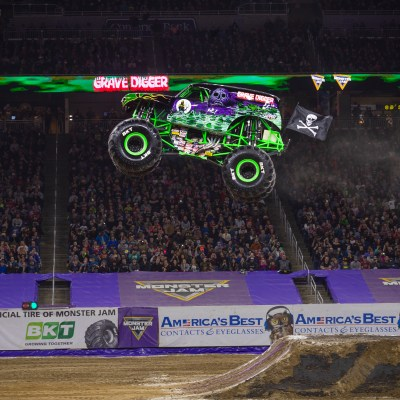 Monster Jam is Roaring through the District