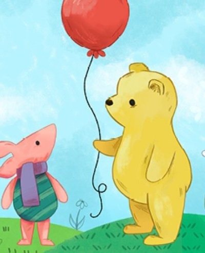 Winnie the Pooh at Adventure Theatre logo