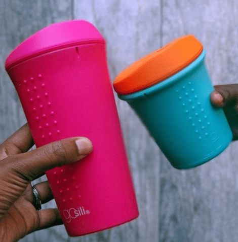 adult and child silicone cups by GoSili