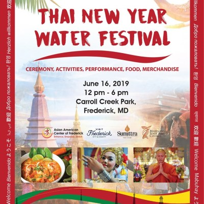 Thai New Year Water Festival in Downtown Frederick