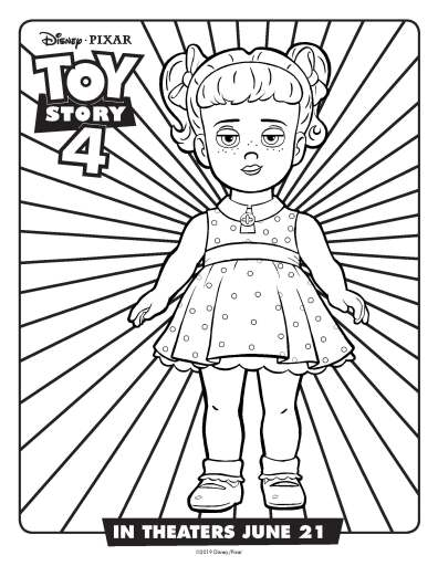 gabby gabby coloring page