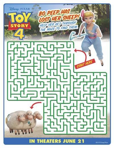 Bo Peep Maze
