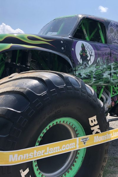 Up close with Grave Digger