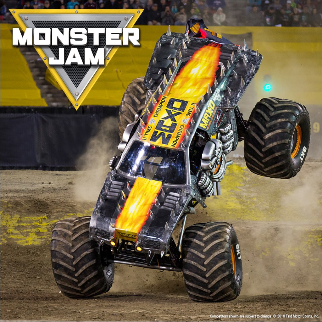 Monster Jam Max D Wheelie