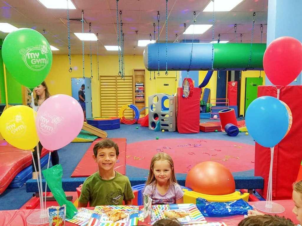 kids birthday party at My Gym Potomac