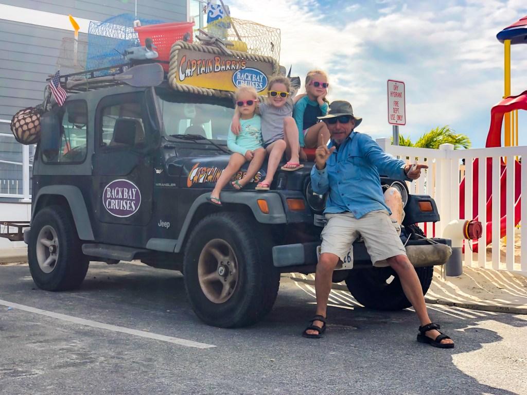 Captain Barry's Jeep