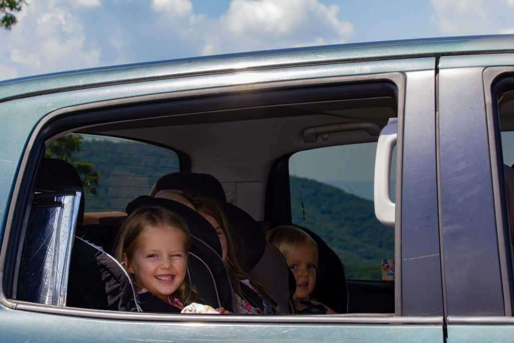 Scenic Drive with Kids