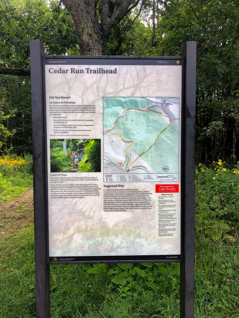 Cedar Run Trailhead