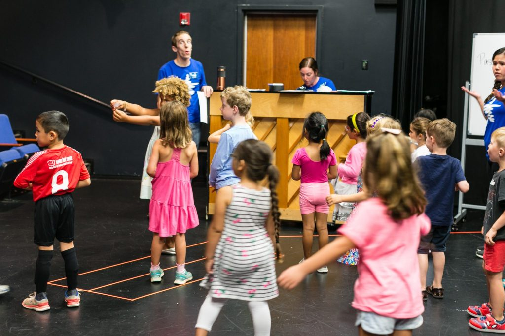 Imagination Stage class