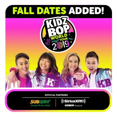 Giveaway: KIDZ BOP World Tour 2019