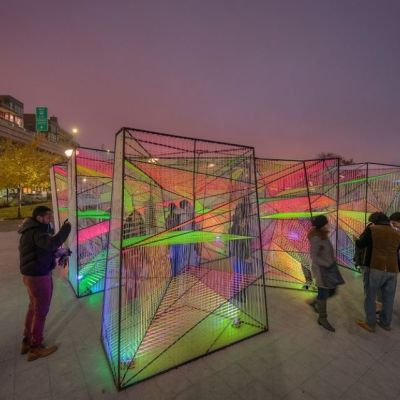 Georgetown GLOW Light Art Experience