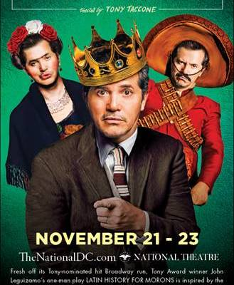 Giveaway: John Leguizamo's Latin History for Morons National Theatre