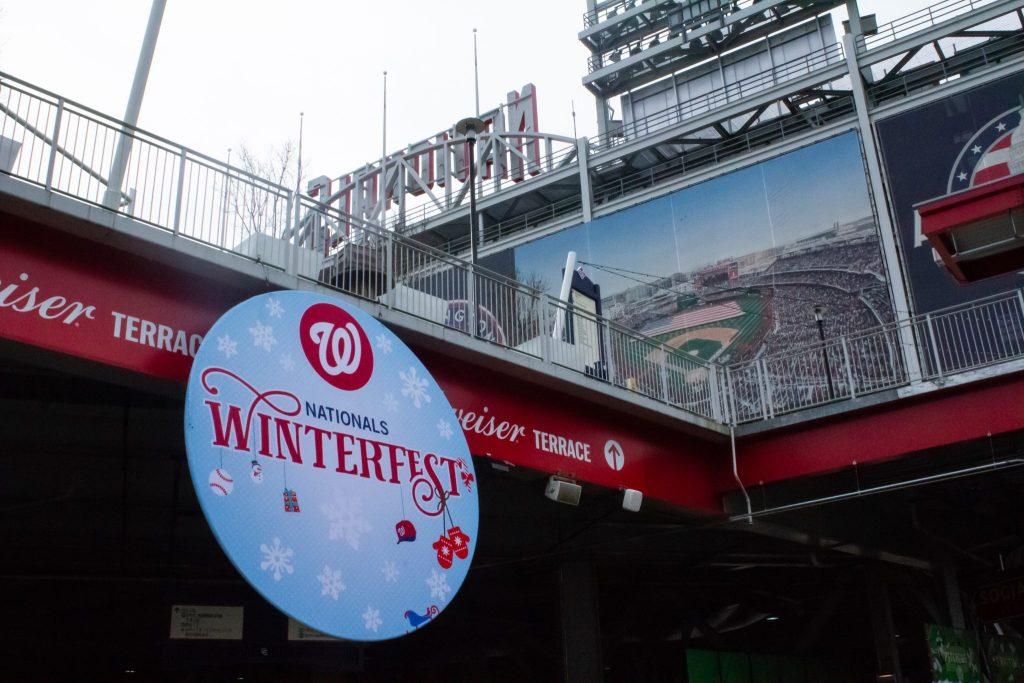 Winterfest sign