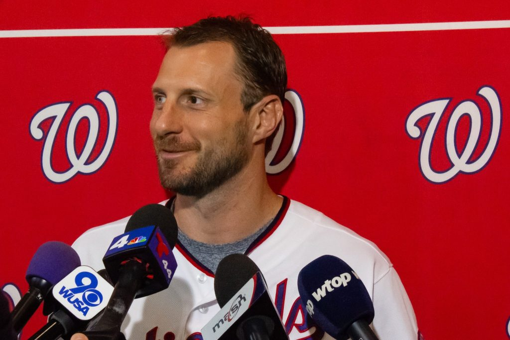 Interview with pitcher Max Scherzer